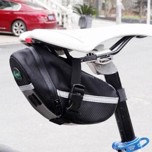 Bicycle Bike Waterproof Saddle Bag Tail Seat Pouch Storage Bag Reflective Strips