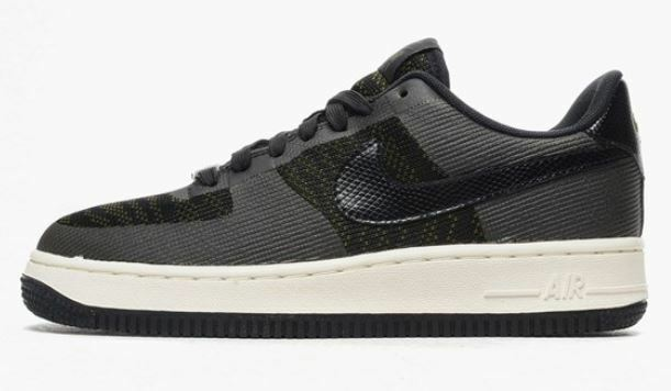 Nike Air Force 1'07 JCRD Wmns Taille 36,5 38 40 Faded Olive/Noir 718350 300