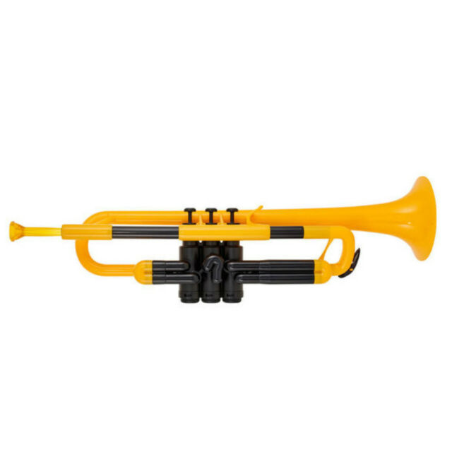 pTrumpet Plastic Bb Trumpet in Yellow BRAND NEW