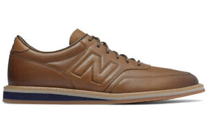 new balance 1100 leather casual dress shoes brown md1100lb