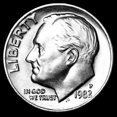 1996 P Roosevelt Dime Roll 50 Coins
