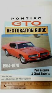 1964-70-PONTIAC-GTO-Restoration-Manual-Guide-Excellent-Condition
