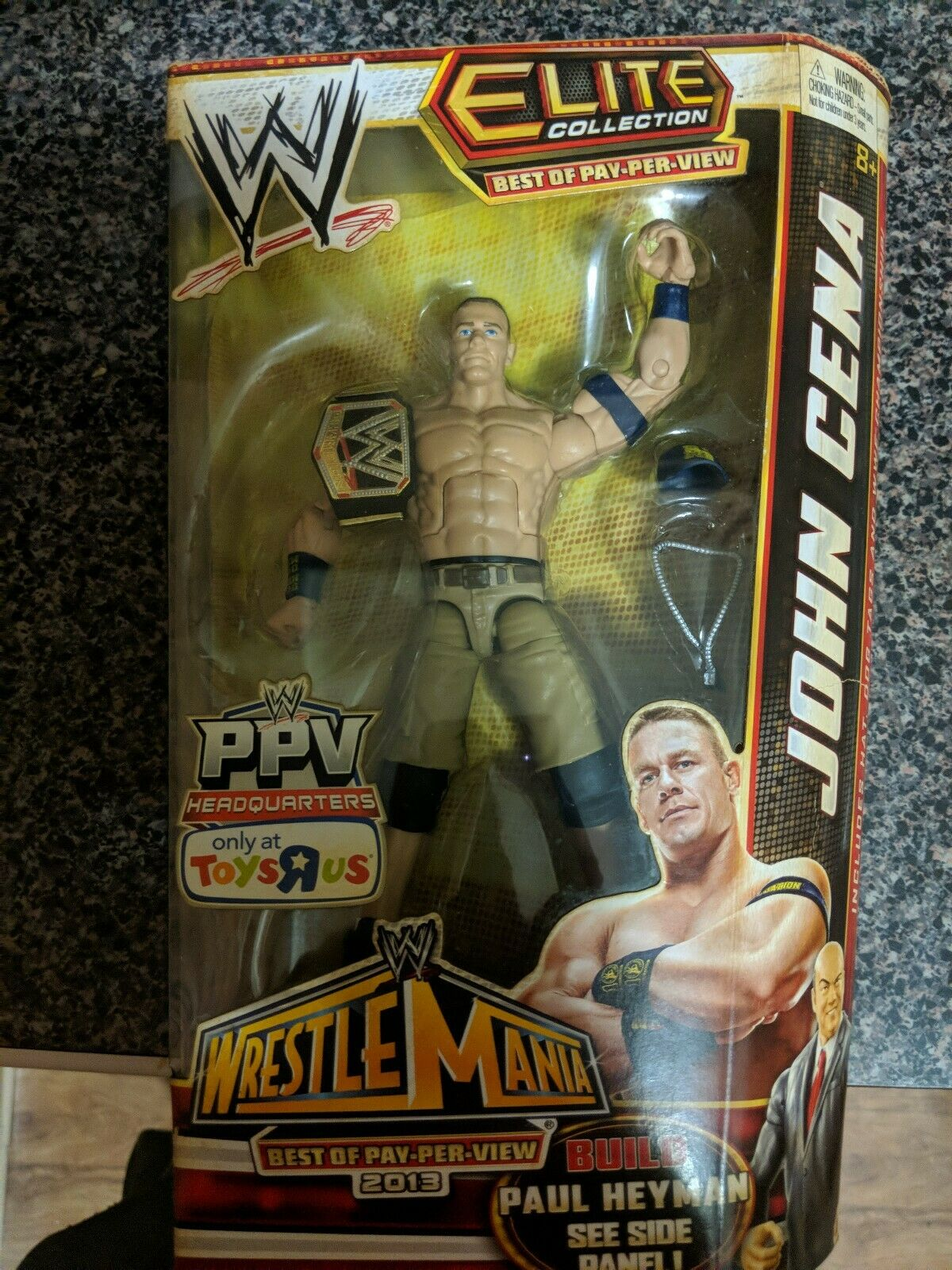 WWE Elite  Collection Exclusive Best of Pay-Per-View 2013 John Cena Action  nouvelle marque
