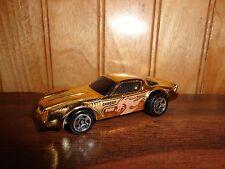 1981 Chevy Gold Camaro Z28 Dragon Fire '82 Issue Diecast Hot Wheels 1/64 RARE
