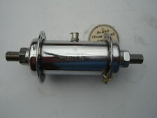 UNION CHROOM STEEL FRONT HUB - 32 H - WITH OIL PORT - NOS