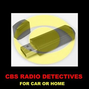 ENJOY-CBS-039-BEST-OLD-TIME-RADIO-DETECTIVES-IN-YOUR-CAR-OR-AT-HOME-1183-SHOWS