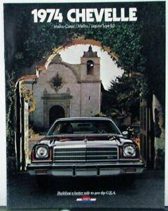 MONTE CARLO 1974 ORIGINAL Sales Brochure