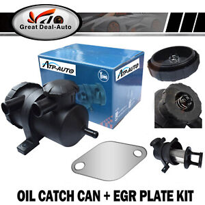 D40-Oil-Catch-Can-Turbo-Diesel-EGR-Blanking-Block-Plate-For-Nissan-Navara-4x4