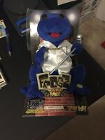 Gemmy Blue Frogz Dances Sings Livin La Vida Loca Teen In Box