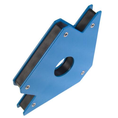 Montaggio pezzo MAGNETICO SQUADRA MAGNETICA SUPPORTO schweißpositi 100mm 13kg 45 ° 90 ° 135 °