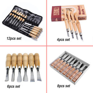4-5-6-8-12pcs-Professional-Woodworking-Carving-Crafting-Tools-Knives-Chisels-Set