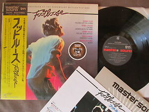 FOOTLOOSE JAPAN MASTER SOUND LP Audiophile 30AP2797 w/OBI+FACTORY SHRINK FreeSH