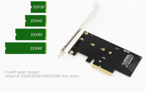 Heatsink for M.2 NVMe 2280 SM951 SM961 960PRO SSD M Key PCIe 3.0 Adapter Card