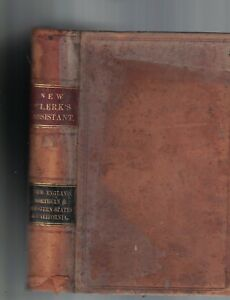 Details about The New Clerk's Assistant or Book of Practical Forms 1864  John Jennings