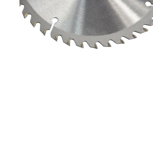 165mm 40T 20mm Bohrung Kreissägeblatt Disc für Holz Metall Schneiden Cutter Tool