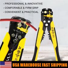 Professional Automatic Wire Terminal Tool Striper Crimper Pliers Cutter Stripper