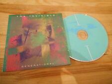 CD Pop Invisible - Generational (4 Song) Promo NINJA TUNE cb / Anna Calvi
