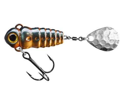 Spinmad Crazy Bug 30mm 4g Tail spinner Forelle Döbel Barsch Angeln FARBEN
