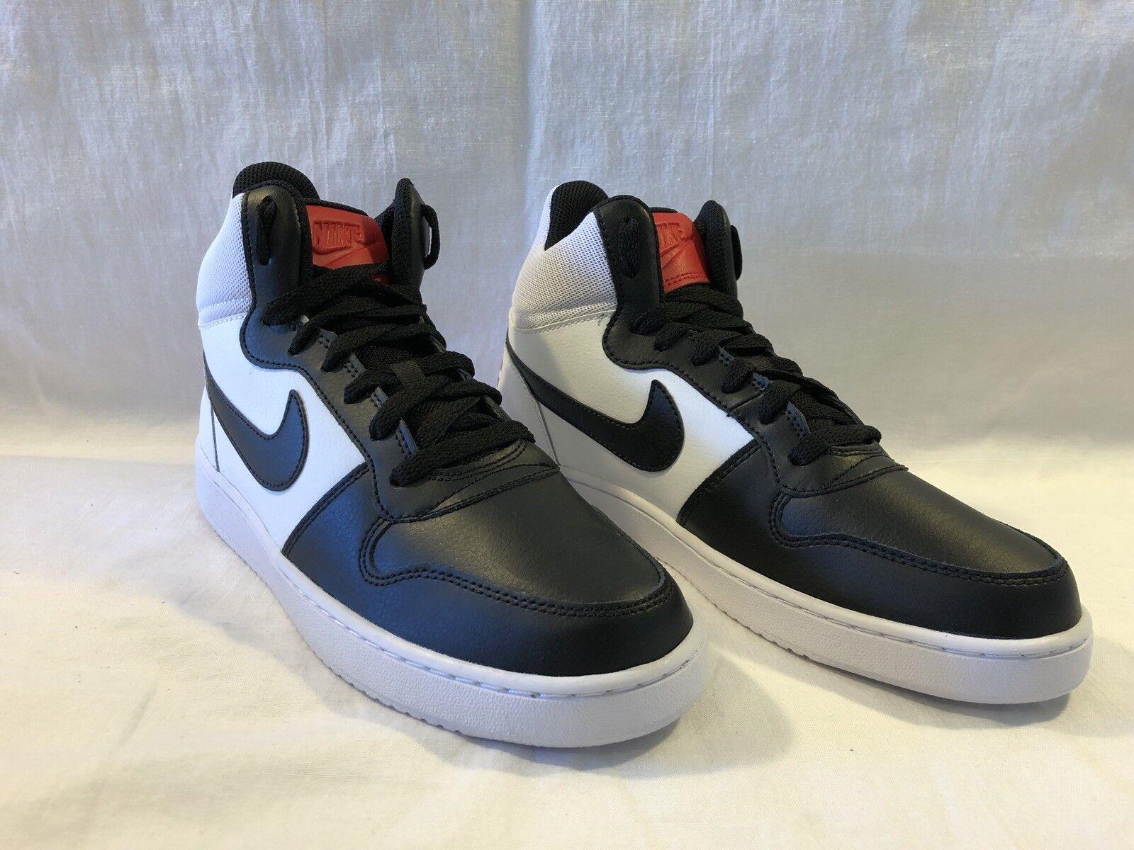 Womens Nike Court Court Court Bgoldugh Mid 9 Retro Black Red White 844906-100 Blazer Jordan 177716