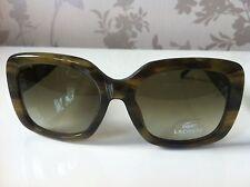 Lacoste Sunglasses Green Plastic Tortoiseshell Effect UV400 RRP£110! Case Inc