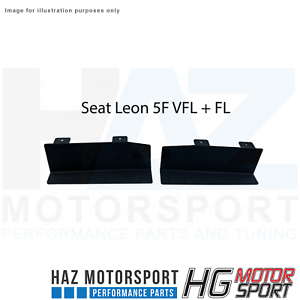 HG Motorsport Additional Air Baffle/Duct Kit for Seat Leon 5F inc Cupra (PFL+FL)