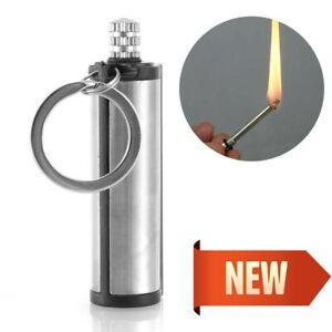 survival Camping Emergency Gear Kit Magnesium Flint Stone Fire Starter Lighter