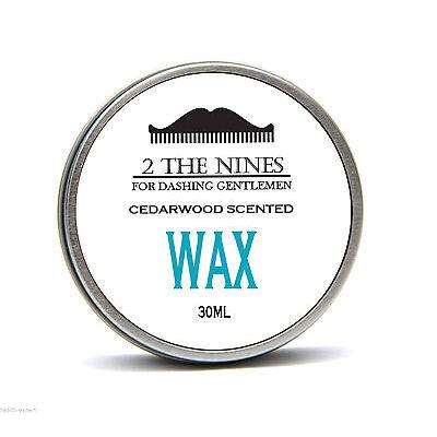 2 The Nines™ Salon 30ml Classic Cedarwood Moustache Wax