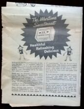 Genuine Vintage Advertising 1940s Wrigley's Chewing Gum WW2 Original Wartime Ads