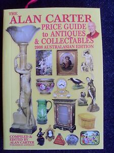2008-MINI-Alan-CARTER-PRICE-GUIDE-TO-ANTIQUES-IN-AUSTRALASIA-Softcover-GIFT