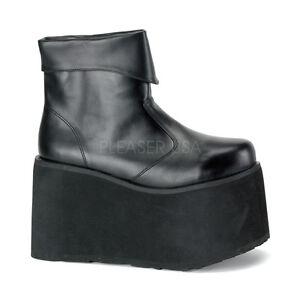 black platform frankenstein boots costume