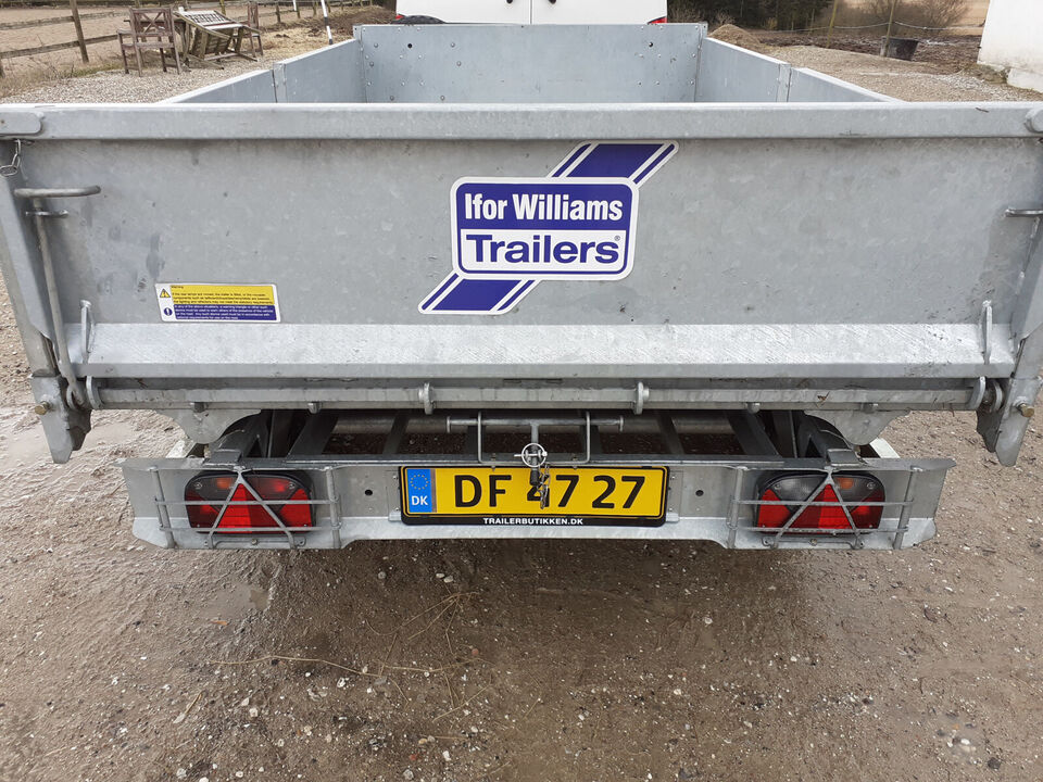Ifor Williams TT3017. Tiptrailer
