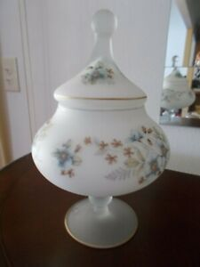 Glass-Apothecary-Jar-White-Frosted-Satin-Glass-Hand-Painted