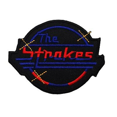 3x3inches THE STROKES PATCHES SEWING OR IRON ON FREE SHIPPING