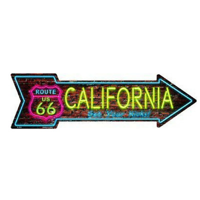 """Outdoor Decor Vintage Route 66 New Mexico Novelty Metal Arrow Sign 5/"""" x 17/"""""""