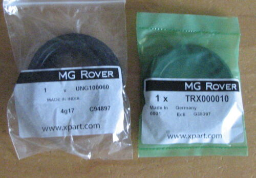 MG Rover 75 MGZT Manual Gearbox Transmission Pair Differential Output Seals New