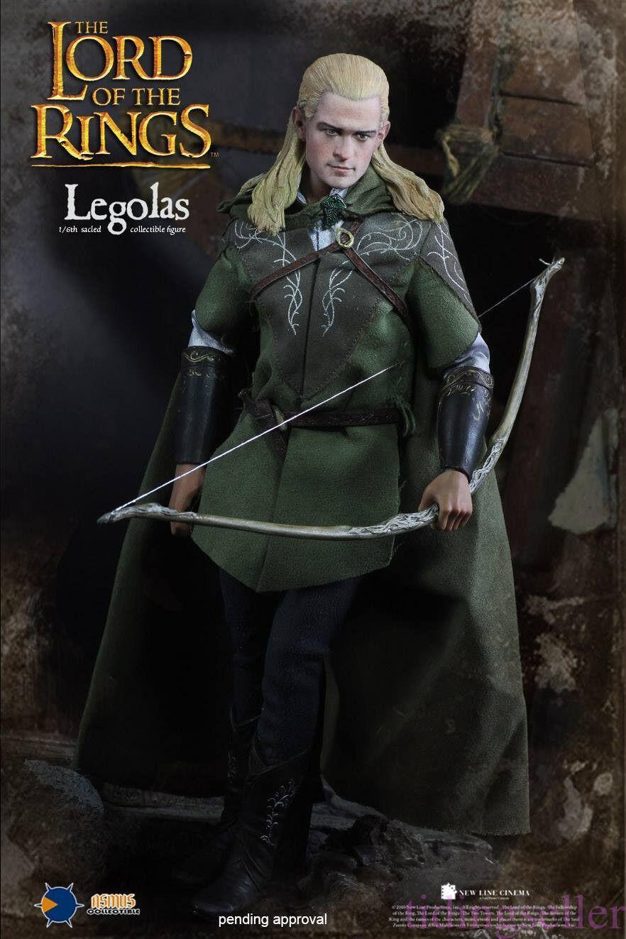1 6 Asmu Juguetes el señor de los anillos 010 el señor de los anillos figura Legolas versión normal