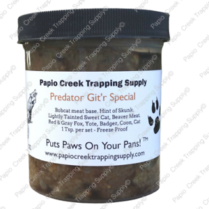 Papio-Creek-Predator-Git-039-r-Special-Bait-16-Oz-Fox-Coyote-Badger-Coon-Bobcat