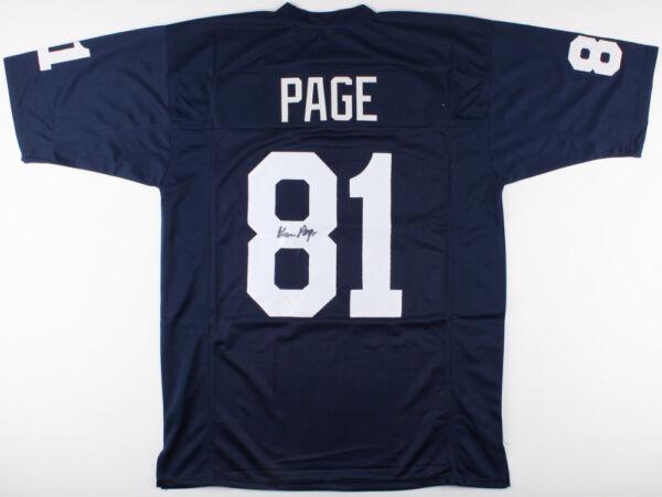 8cc8d39cf Alan Page Signed Notre Dame Fighting Irish Jersey (JSA COA) Purple People  Eater