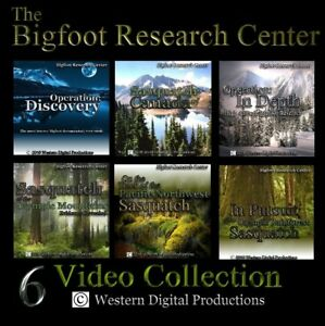 DVD-Bigfoot-Sasquatch-Research-Outdoors-Documentary-Collection-Videos-Vol-1-6