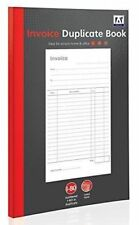 A Duplicate Invoice Book Numbered Office Home School Receipt - How to use an invoice book