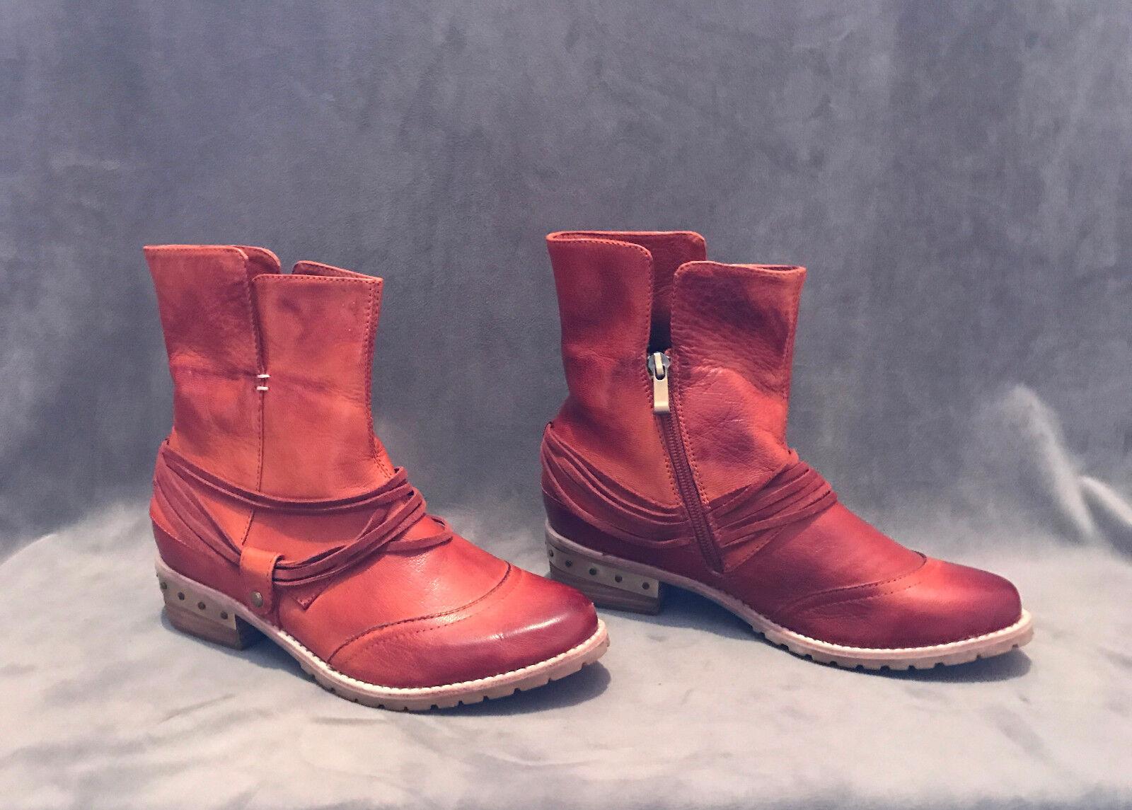 Nuevo anthropologie antílope roya parda Tachonado Tachonado Tachonado botas al Tobillo Zapatos Talla 37  Entrega gratuita y rápida disponible.
