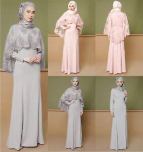98d2c4eabc8 Image is loading Ramadan-Abaya-Dubai-Maxi-Hijab-Dress-Muslim-Prayer-