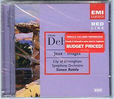 DEBUSSY CD Jeux Images SIMON RATTLE 1998 U.S. EMI CD -- ballet score