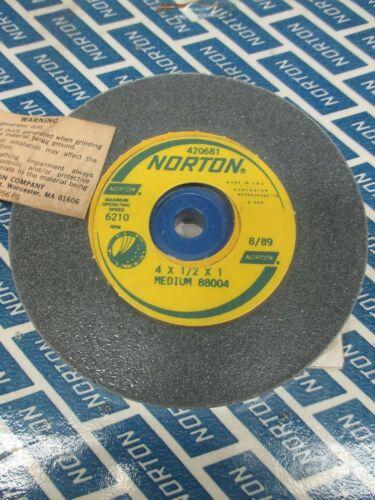 4 x 1//2 x 1 GRINDING WHEEL MEDIUM 88004 NORTON 420681 LL3338