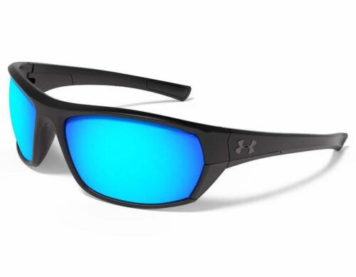 Grey 8600105-010100 Sunglasses NEW Under Armour Powerbrake Satin Black