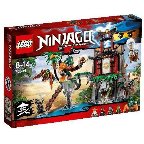LEGO® NINJAGO™ 70604 Schwarze Witwen-Insel NEU NEW OVP MISB