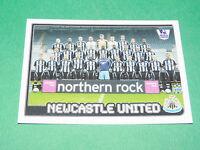 N°437 Newcastle United England Merlin Premier League Football 2007-2008 Panini