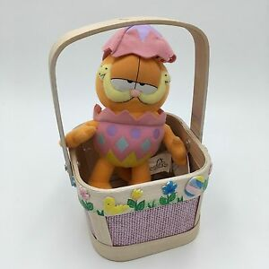 Image is loading Russell-Stover-GARFIELD-IN-EASTER-EGG-COSTUME-8- & Russell Stover GARFIELD IN EASTER EGG COSTUME 8