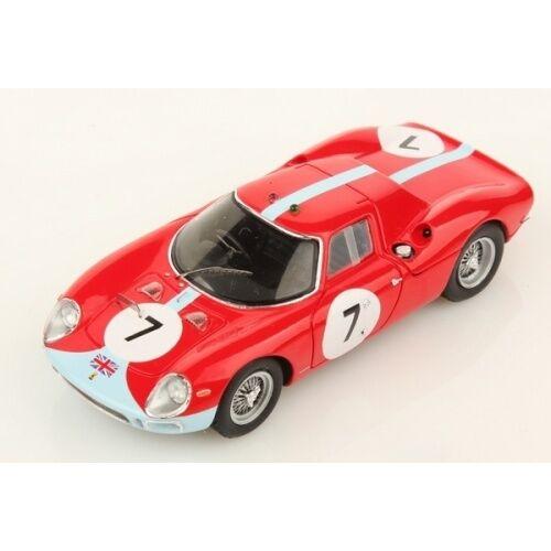 Ferrari 250lm 250 LM reims 12h winner 1964  7 Hill bonnier resin Looksmart 1 43