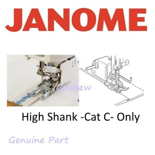 Cat C 200338006 High Shank Memory Craft JANOME WALKING EVEN FEED FOOT Open Toe